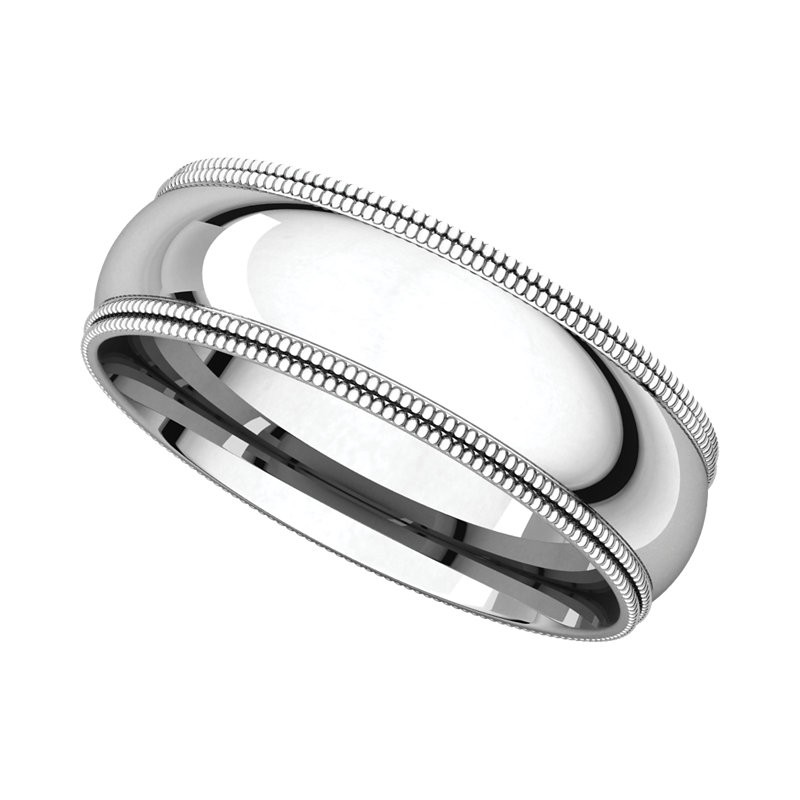wedding fit band amazon bands dp com comfort platinum milgrain standard