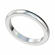 Classic Platinum Wedding Band 2.30mm wide PWRW1003HC