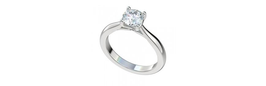 Vintage Platinum Engagement Rings